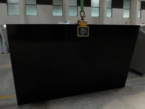 "Premium Black Absolute / Polished 3cm Granite #SBA1161 Group ""D"" 78×112"