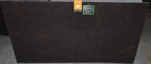 "Tan Brown 3cm granite group ""A"""
