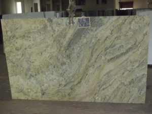 "Safari Green 3cm granite group ""B"" RV207/72×122"