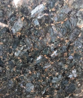 "Verde Peacock 3cm Granite Group ""A"" #BFO1359  72×117"