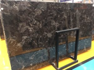 "Emperador Dark 2cm Marble Group ""A"" #294172   69×117"