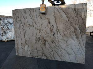 """Barista/Brown Macabus 3cm Quartzite #12095/1340 Group """"I"""" 79×109"""