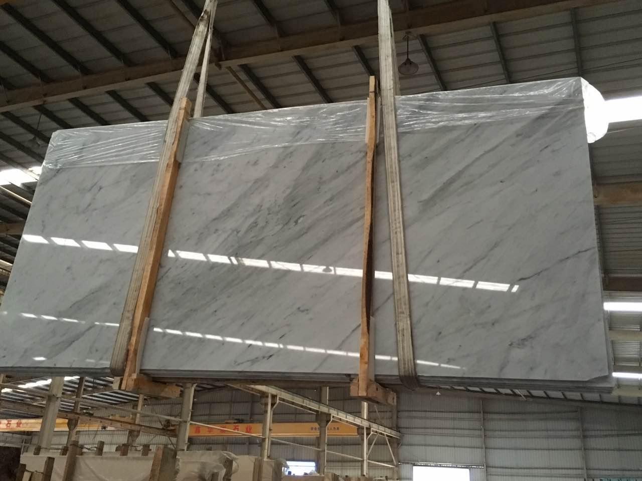 Carrara white marble 2cm group d 320153 61x128 granite for Carrara marble slab remnants