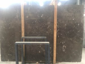 "Emparador Dark 3cm marble Group ""C"" #73568 75×111"