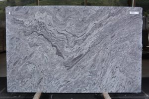 "Silver Cloud granite 3cm Group ""B"" #12546 76×121"