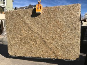 "New Venetian Gold Premium 3cm granite Group ""A"" #ZX 74×115"