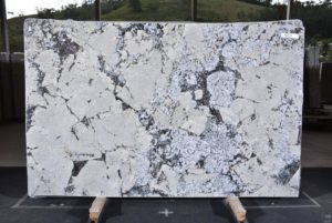 "Antarctica White granite 3cm bundle# 12536 group ""F"" 78×124"