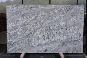 "Blue Flower/Arara Blue granite 3cm bundle# 12704 group ""E"" 75×119"