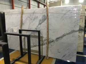 "New Statuary White Marble 2 cm bundle# 21217 group ""C"" 69×119"