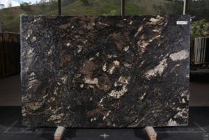 "Saturnia granite 3cm with mica,  bundle# 12616 group ""H"" 72×112"