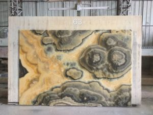 "Black Dragon Onyx 2cm bundle# 3468 group ""I"" 73×109"