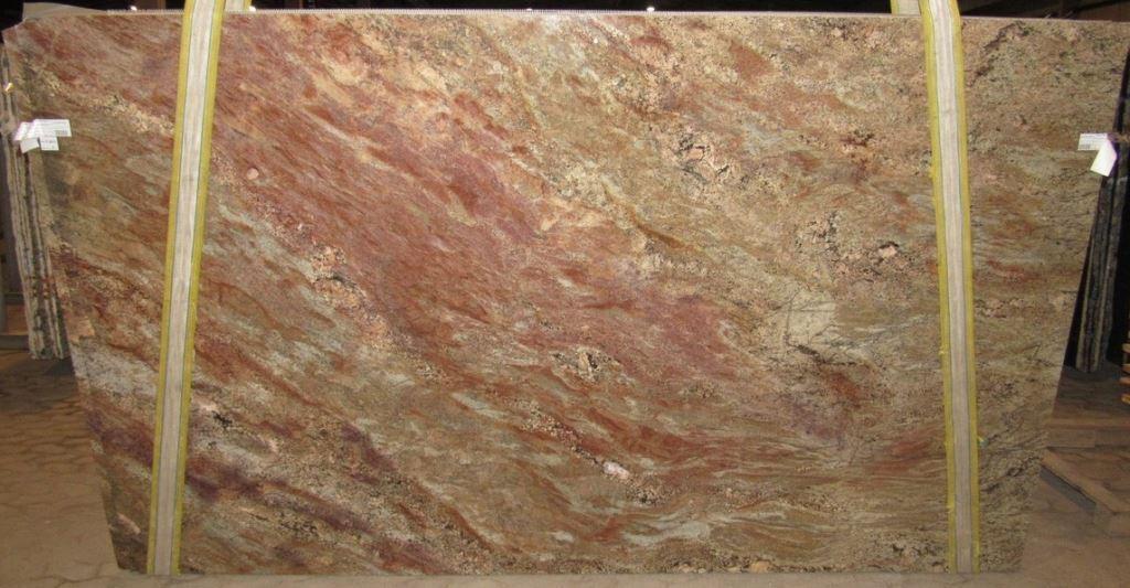 Fire Bordeaux Granite 3cm Bundle 2786 Group C 74 215 124
