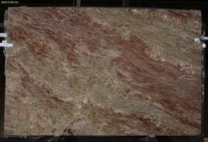 "Fire Bordeaux granite 3cm bundle# 2788 group ""C"" 74×115"