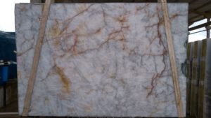 "Cristallo 3cm Quartzite group ""J"" bundle# 23289 79×119"