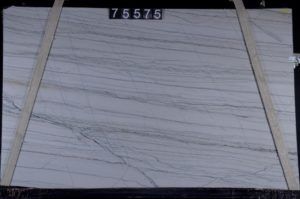 "White Macaubus 3cm Quartzite group ""I"" bundle# 20983  77×128"