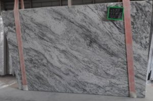 New River White / polished granite 3cm #SPD192 size 78X125 group D