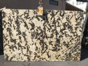 "Splendor Cream / Leathered Granite 3cm #BQG216 Group ""G"" 114×74"