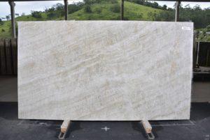 "Perla Venata/Sky Falls 3cm Quartzite group ""H"" # 12723 76×135"
