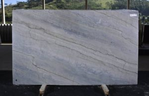 "Sea Pearl/Blue Thunder 3cm Quartzite group ""I"" # 12778 74×127"