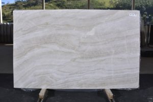 "Taj Mahal 3cm Quartzite group ""J"" # 12915 74×119"