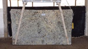"Alaska White granite 3cm bundle# 2431 group ""D"" 124×73"