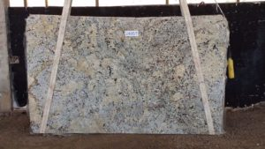 "Alaska White 3cm Granite #2430/494 Group ""B"" 124×73"