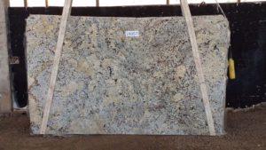 "Alaska White 3cm Granite #2430/494 Group ""B"" 124×73"