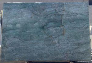"Verde Acqua / Polished 3cm Quartzite #170879  77×114 Group ""F"""