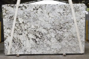 "BRANCO ZEUS / GRANITE 3CM 77×125 BLOCK #8309 GROUP ""D"""