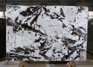 "Panda White 3cm / Polished granite #2900 Group ""E""  76×115"