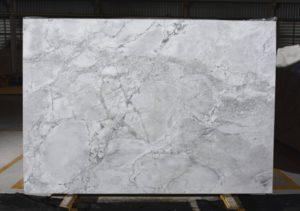 Super White / polished 3cm Quartzite / Dolomite #6490 (78″ x 113″) Group I