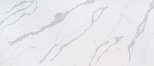 Q-Quartz Calacatta Leon Level 7 (138″ x 77″)