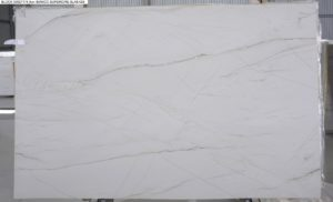 Bianco Superiore Quartzite 3cm / #75349 (118″ x 74″) Group H