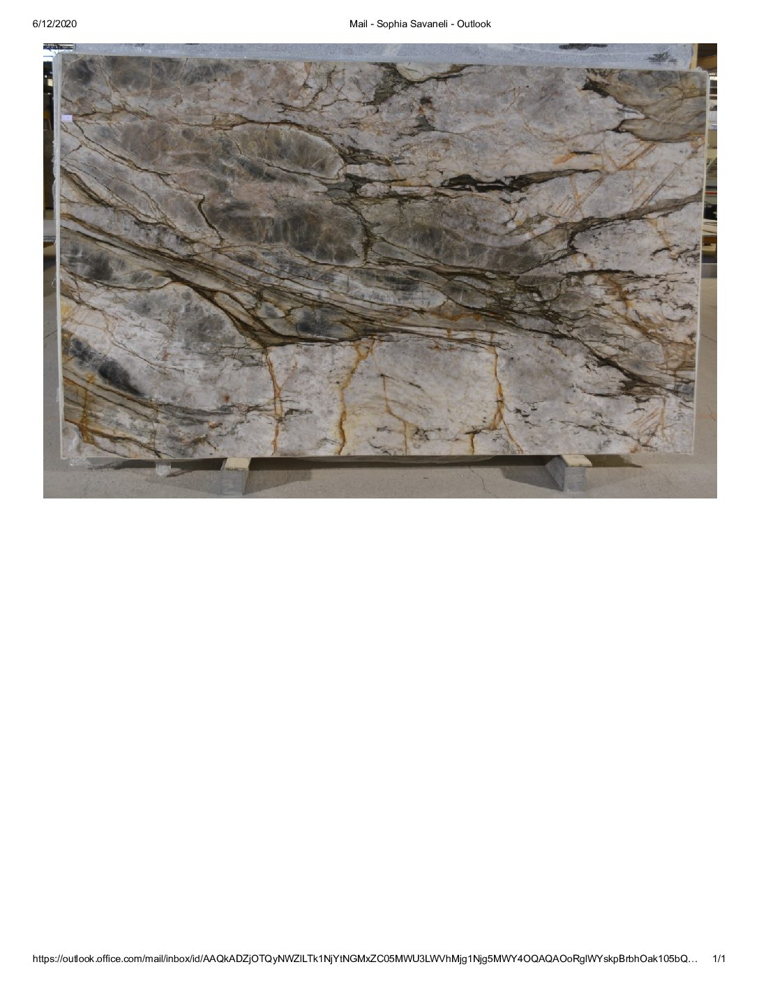 Tempest Crystal Quartzite 3CM / #36905 (118″ x 71″) Group I