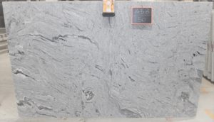 Silver Cloud 3cm Polished Granite #SVE2834 (124″ x 79″) Group C