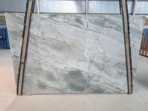 """Aqua Labrinto 3cm Polished Quartzite #96 ( 79″ x 122″) Group """"H"""""""