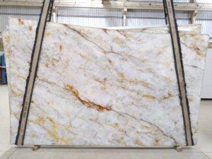 """Crystallo 3 cm Polished Quartzite #2418 ( 76″ x 127″ ) Group """"EXOTIC"""""""