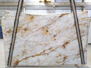 """Crystallo 3 cm Polished Quartzite #3418 ( 76″ x 127″ ) Group """"EXOTIC"""""""