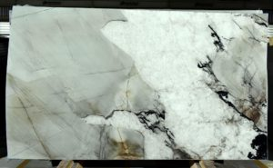 "Laguna Crystal 3cm Polished Quartzite #7335 ( 77″ x 134″ ) Group ""SUPER EXOTIC"""