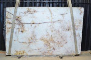 Crystallo / Marrakesh 3 cm Polished Quartzite #389MG715 slab10-15  ( 72″ x 116″ ) Group D