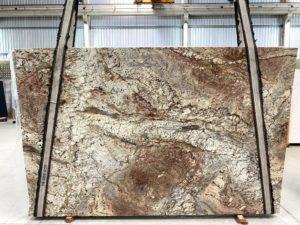 "Typhoon Bordeaux 3 cm Polished Granite #11798 ( 79″ x 122″) Group ""F"""