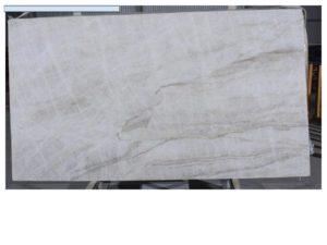 """Taj Mahal 3 cm Polished Quartzite #83271 ( 74″ x 134″ ) Group """"J"""""""