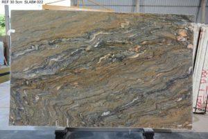 Carnavari / Fusion Polished Granite 3 cm #35027 ( 76″ x 122″ ) Group G