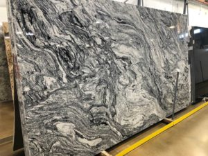 Silver Cloud Polished Granite 3 cm #SDC212 (135″ x 78″ ) Group D